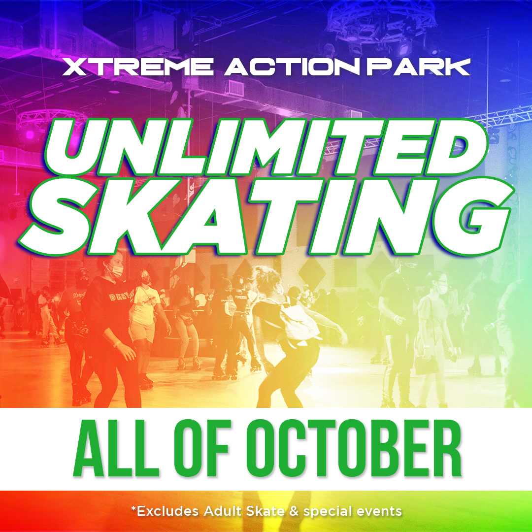 Unlimited Skating is back for the month of October, Happy Roller Skating Month