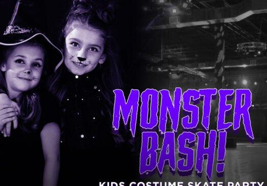 Monster Bash Kids Costume Skate Party